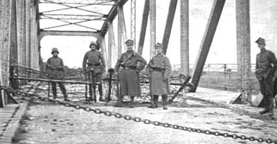 Powstańczy posterunek na czarnkowskim moście