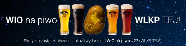 Skrzynka założona z okazji WIO na piwo #27