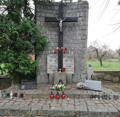 Pomnik ku czci poległych w Lubniu