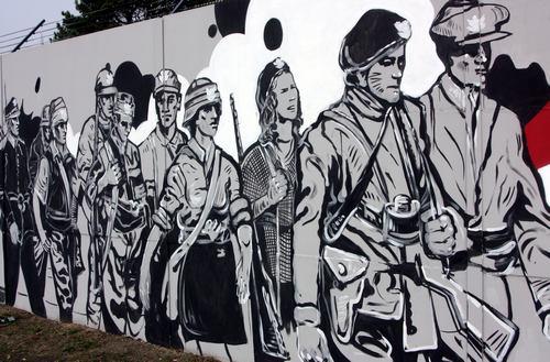 Mural chwa y polskiego or a geocaching opencaching polska for Mural legionowo